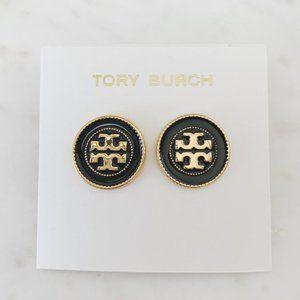 Tory Burch-black earrings